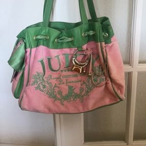 Juicy Couture bag with mirror